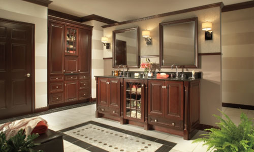 custom home entertainment cabinets